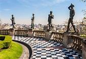 El Castillo de Chapultepec desde las alturas