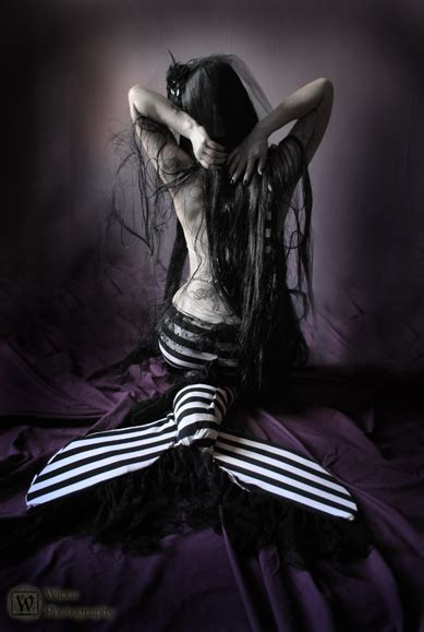gothic mermaid   uzariel  deviantart