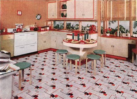 1940s kitchen flooring 1940s kitchens design inspiration from 1941 nairn linoleum 1031