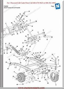 Cub Cadet Parts Manual For Model Fmz50