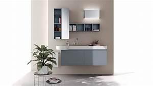 Meuble De Salle De Bain Bleu : meuble salle de bain en couleur 25 id es charmantes ~ Teatrodelosmanantiales.com Idées de Décoration