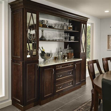 dining room hutch kraftmaid