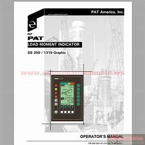 Grove Pat Load Moment Indicator Ds350 1319 Operator Manual