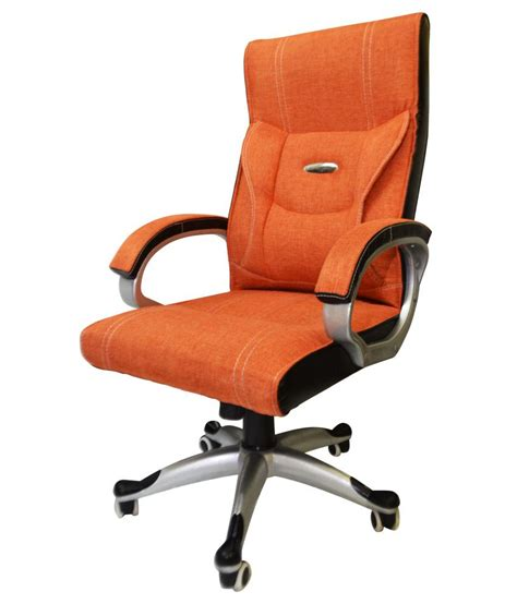 office chair in orange snapdeal price chairs deals at