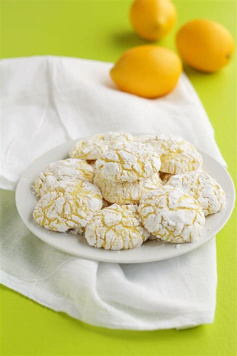 Easy cookie recipes to satisfy chocolate cravings. Lemon Crinkle Cookies | Recipe | Lemon crinkle cookies ...
