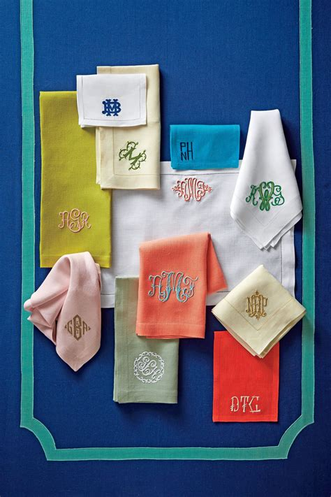 monogram   double  southern living
