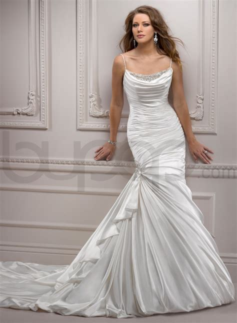 Draped Wedding Dresses - new wedding dresses 2015