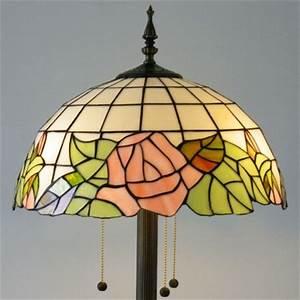 tiffany lighting lighting ideas With pink rose floor lamp