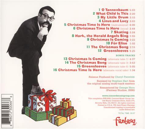vince guaraldi trio christmas song my favorite christmas album quot a charlie brown christmas