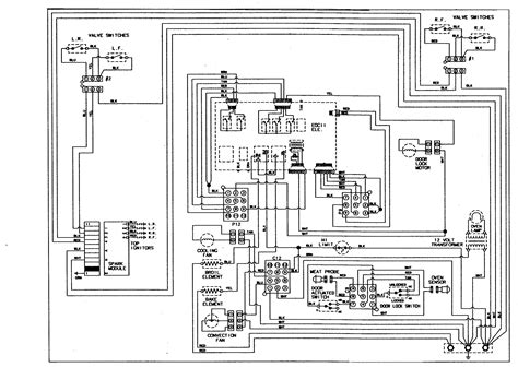 Wiring Diagram For Ge Oven Element by Jenn Air Jds8850ass Timer Stove Clocks And Appliance Timers