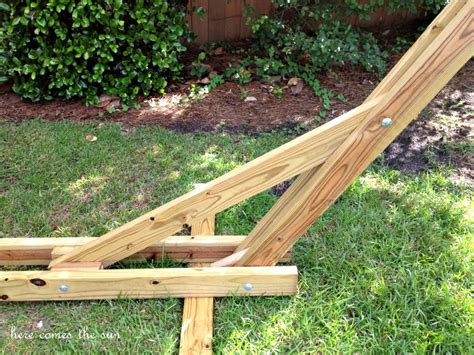 hammock stand 40 diy hammock stand that you can make this weekend Diy