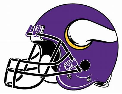Clipart Helmet Football Vikings Minnesota Clipartmag