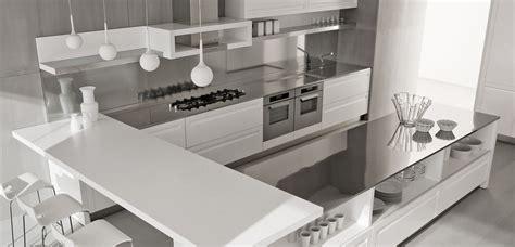 contemporary stainless steel backsplash interior design