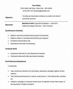 21 Student Resume Templates PDF DOC