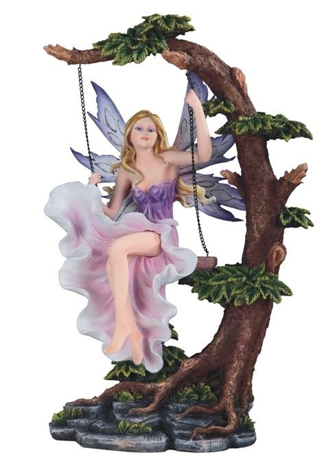 pink fairy  tree swing gsc imports
