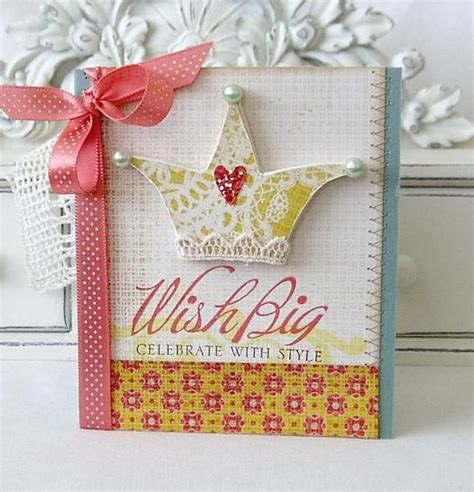 cute crown paired   big bold wishes set