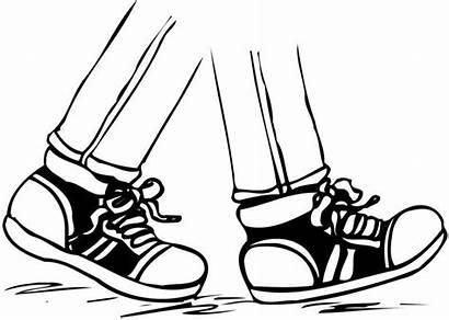 Foot Clipart Feet Clip Walking Clipartmag