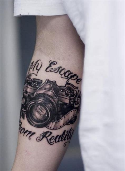 camera tattoo images pictures  design ideas