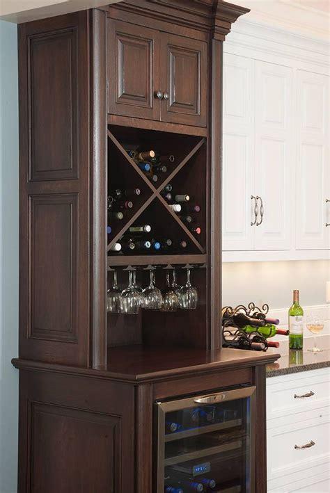 looky  great idea  refridgerator walloh   wine fridge cabinet