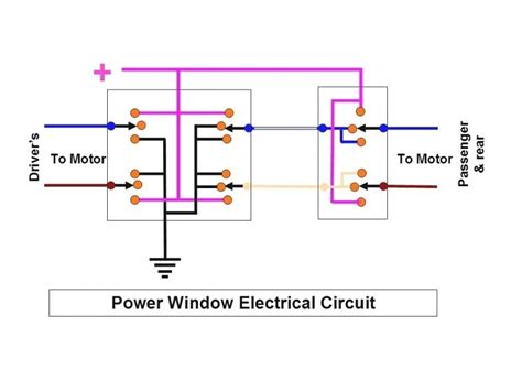 Electric Window Wiring Diagram by Gm Power Window Switch Wiring Diagram Wiring Forums