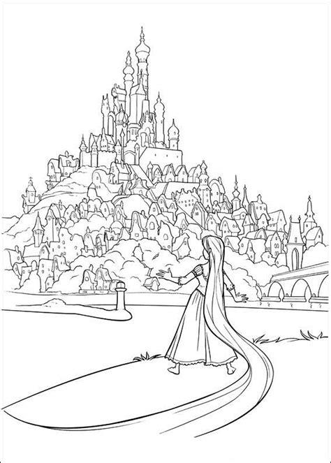 Kleurplaat Rapunzol by Rapunzel Kleurplaat Disney Kleurplaat 187 Animaatjes Nl