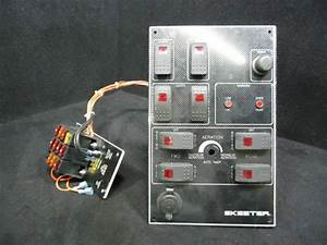 Buy Skeeter Switch Panel With Fuse Box 11 5 U0026quot  X 7 25