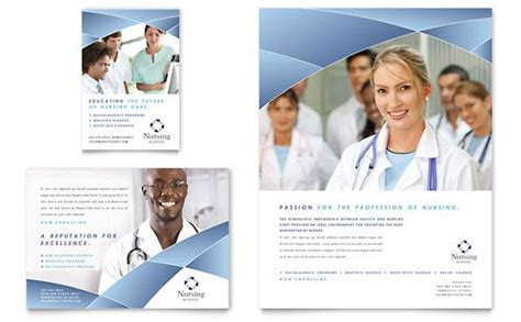 medical health care flyers templates design