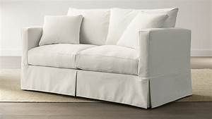 Design Your Own Gift Card Free Willow White Couch With Pull Out Bed Reviews Crate And