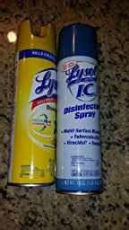 Amazon.com: Lysol IC Disinfectant Spray with Control Flo