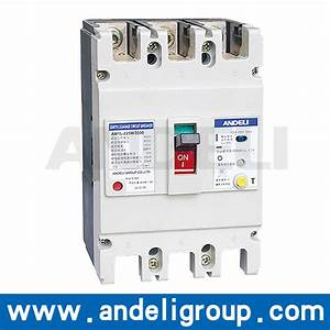 China 63a  100a  125a Elcb 3 Phase Earth Leakage Circuit