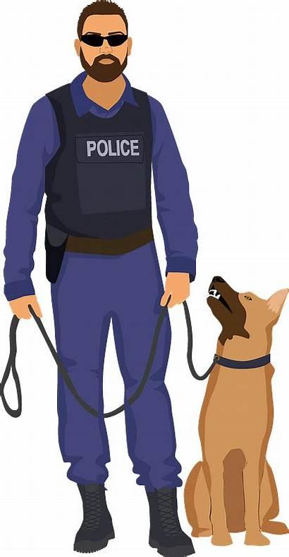 Policeman Clipart Dog Creazilla
