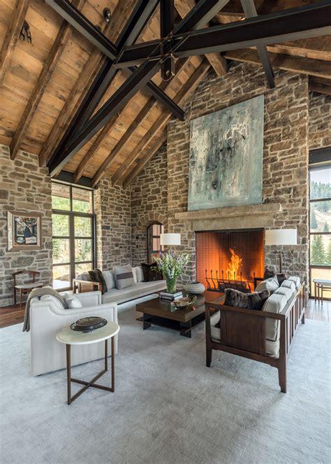 luxury mountain west houses  montana architecture
