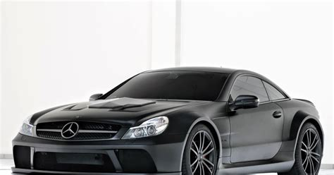 brabus  rs vanish mercedes sl amg black series
