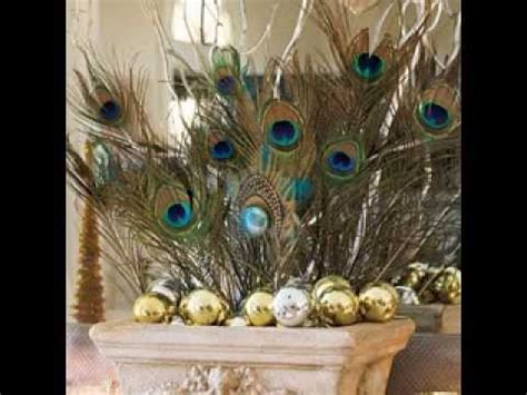 simple peacock decorating ideas youtube