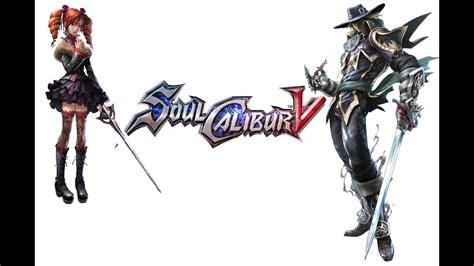 Soul Calibur 5 Amy Viola Vs Raphael Youtube