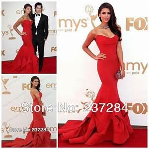 Custom Made Nina Dobrev 63th Emmys Awards Red Carpet ...