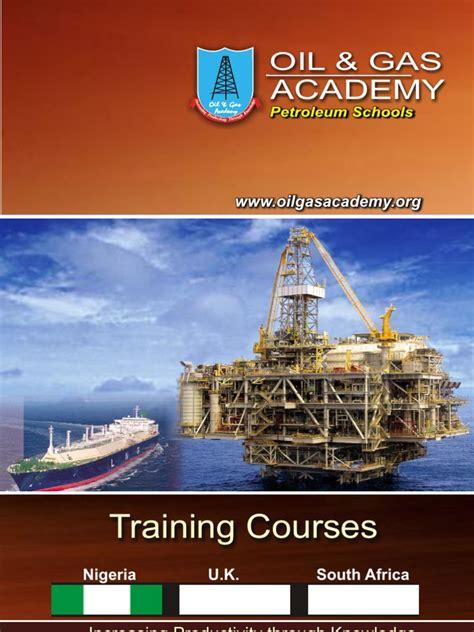 oil gas academy petroleum schools brochure petroleum