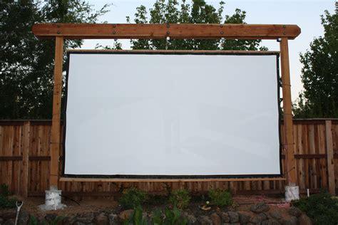 frame  screen backyard theater forums