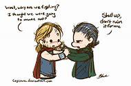 Funny Thor and Loki Fan Art