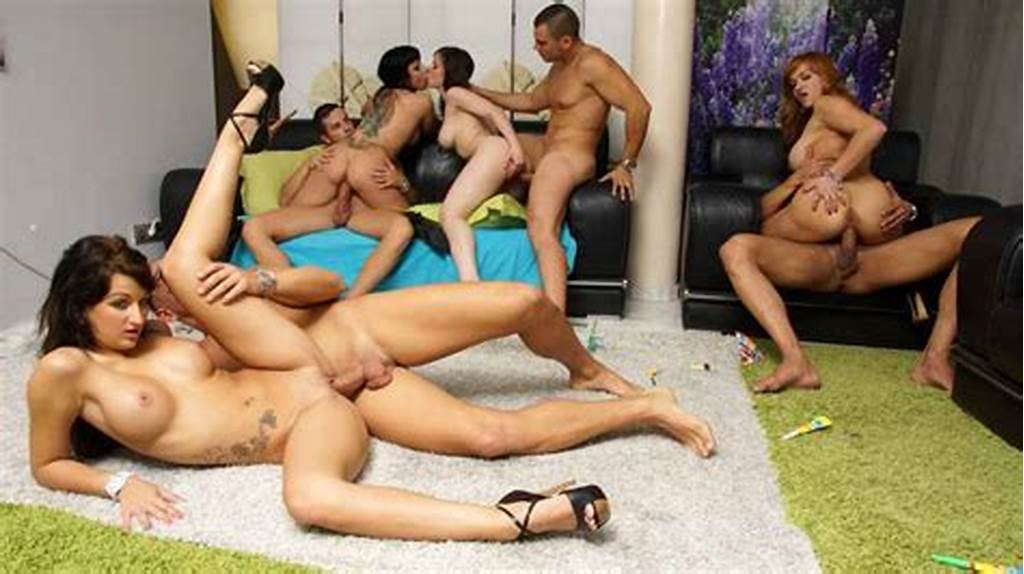 #Crazy #Orgy #With #Busty #Chicks