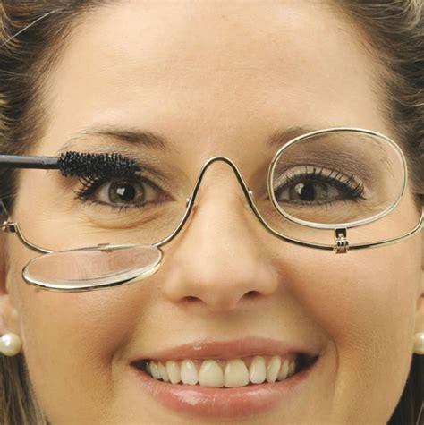 makeup tips  girls  glasses pampadour