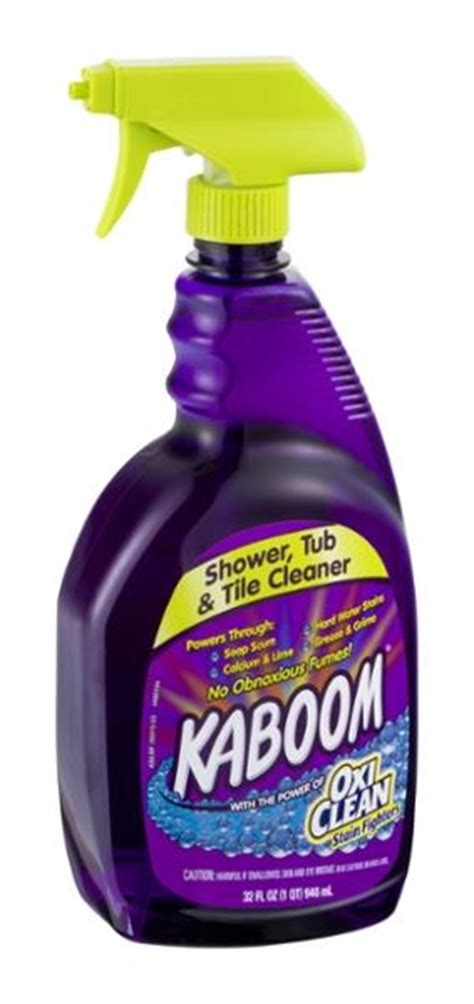 kaboom bathroom cleaner ingredients kaboom shower tub tile cleaner hy vee aisles