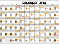 2018 kalender 2018 Calendar printable for Free Download