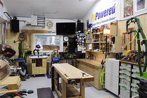 Steve's Spacious Garage Woodshop - The Wood Whisperer
