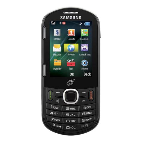 samsung phones no contract samsung r455c net10 tracfone qwerty prepaid cellphone no