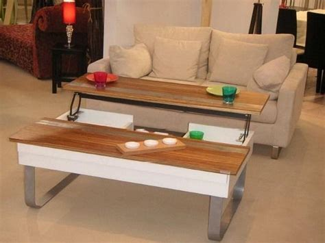 Coffee Table: Incredible Adjustable Coffee Table Transforming Coffee Table, Adjustable Height