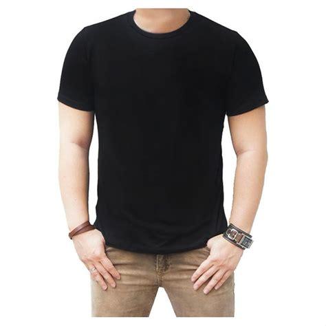 Kaos Polisi Hitam jual kaos polos hitam puth merah navy cotton combed 30s