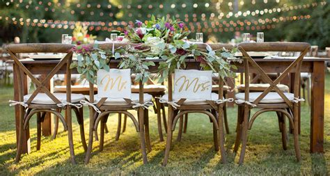 wedding tables and chairs farm table 8 39 party and wedding rentals for denton and