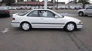 1992 Acura Integra  White - Stock  Tr11263