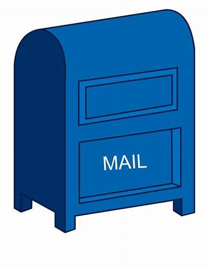 Mailbox Office Clipart Clip Mail Transparent Webstockreview